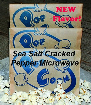 Sea Salt Cracked Pepper (18 Pack Microwave)